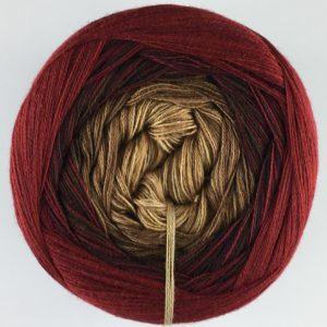 Wolle, Apfel-Nuss-Mandelkern 900m / 4-fach