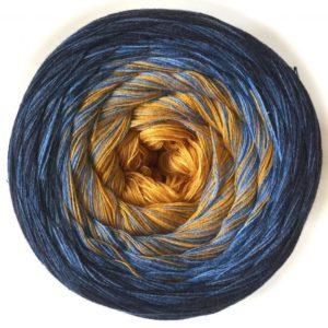 Wolle, Denim Curry 550m / 5-fach