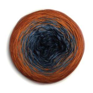Wolle, Denim Sanddorn 900m / 4-fach