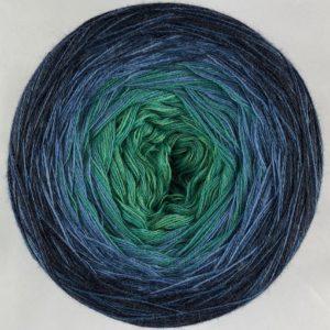Wolle, Denim Ozean 900m / 4-fach