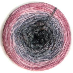 Wolle, Grau liebt Rosa 550m / 5-fach