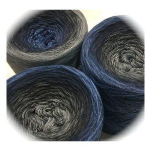 Wolle, Stone Indigo 550m / 5-fach